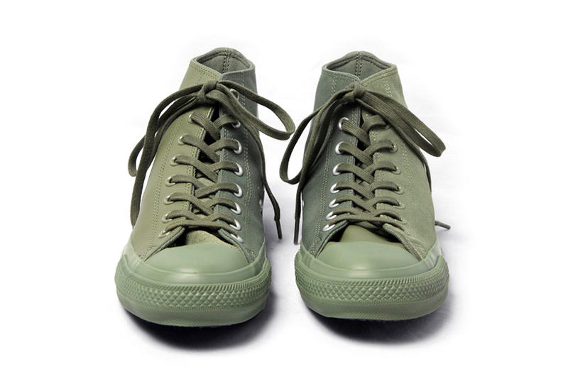 Engineered Garments x Converse All-Star military green olive beams release info purchase