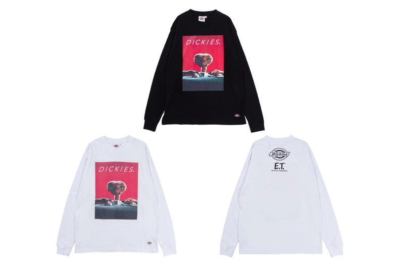 Dickies Japan ET The Extra Terrestrial Collaboration capsule sweater hoodie elliot