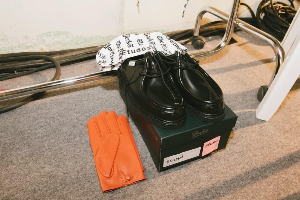 Études Fall/Winter 2018 Backstage Paris Fashion Week adidas Terrex Sneaker Collaboration