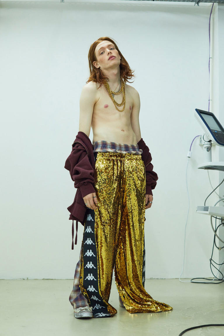 Faith Connexion Fall/Winter 2018 collection kappa trackpants lookbook
