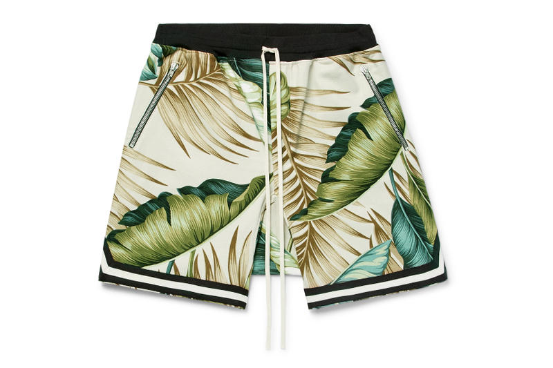 Fear of God MR PORTER Exclusive Palm Tree Shorts Jerry Lorenzo Drawstring 2018