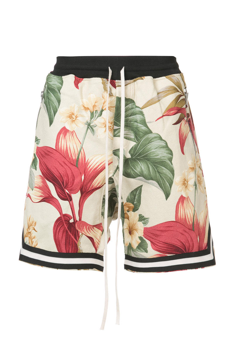 Fear of God Floral Shorts The Webster Exclusive Release Jerry Lorenzo