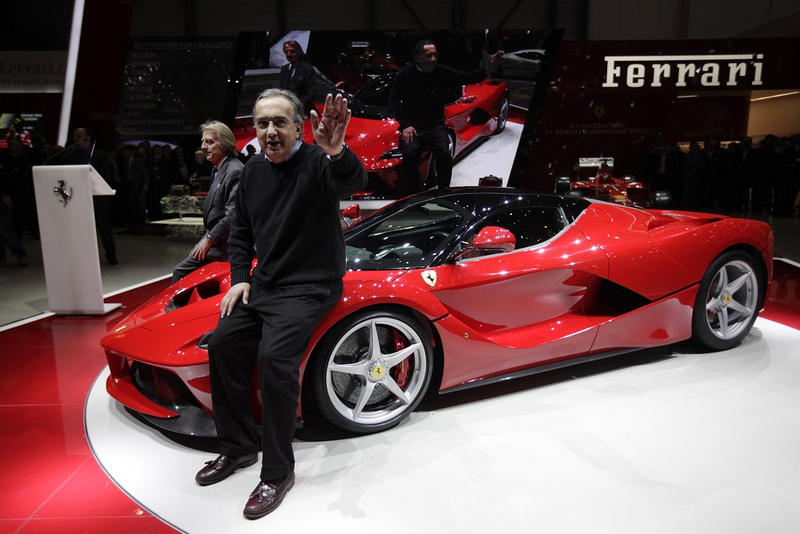 Ferrari First Electric Supercar SUV 2018 North American International Auto Show Detroit