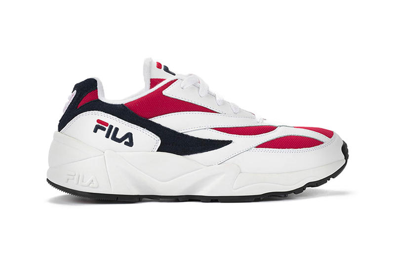 FILA Venom Black Red White