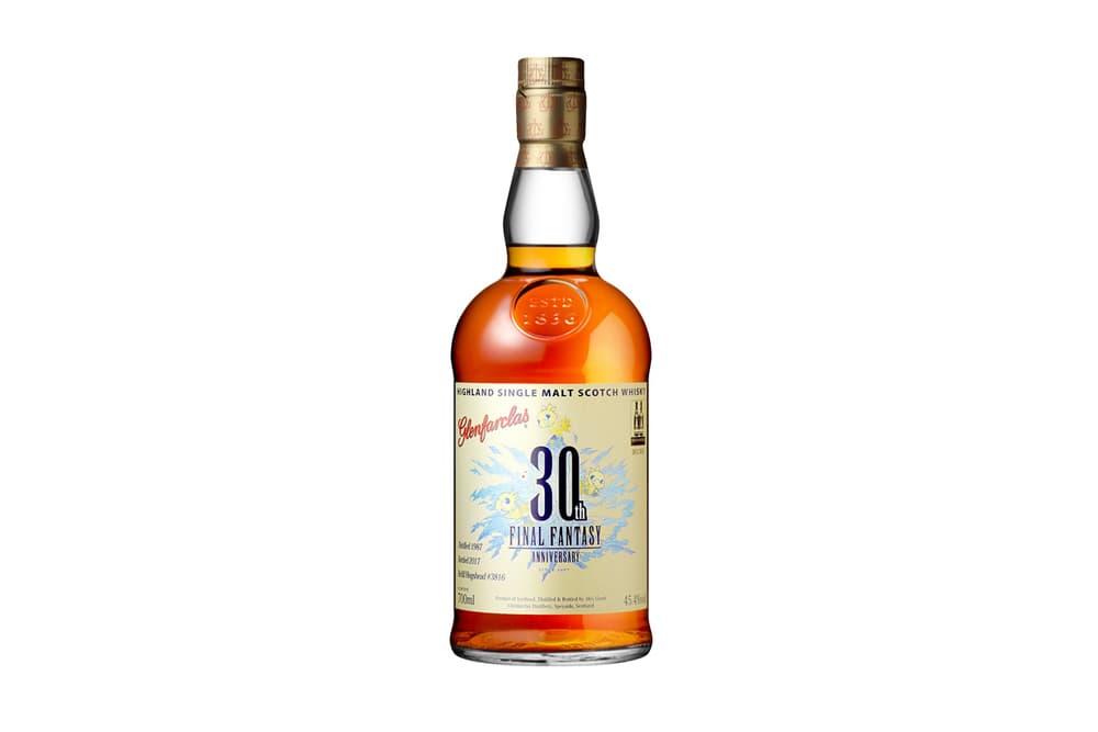 Final Fantasy 30th Anniversary Glenfarclas Whiskey
