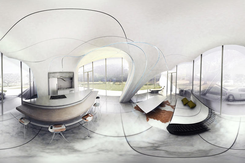 Curve Appeal First Freeform 3D Printed House WATG Urban