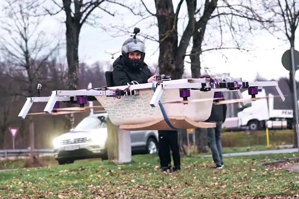 The Real Life Guys Build Flying Bathtub Drone | HYPEBEAST