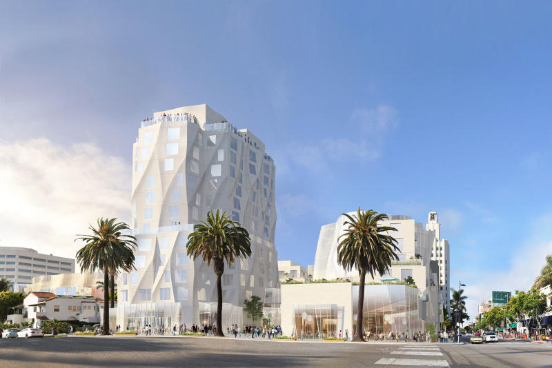 Frank Gehry 'Ocean Avenue Project' Update
