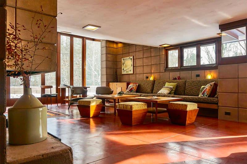 Frank Lloyd Wright Eppstein House Airbnb Michigan