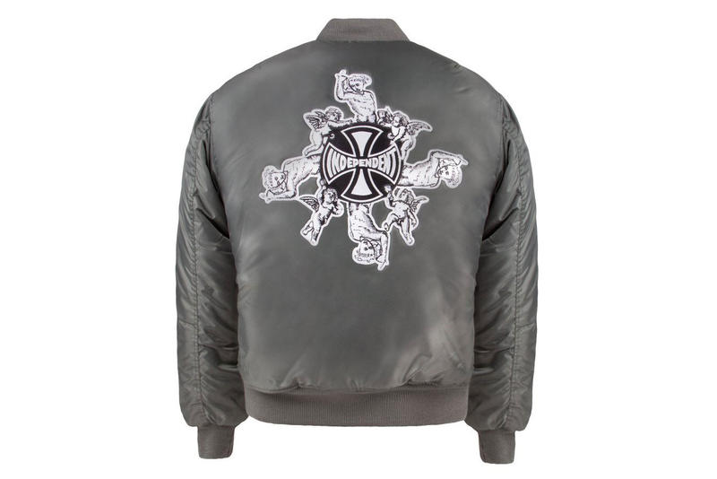 Fucking Awesome Independent Collaboration Jason Dill bomber jacket t-shirt graphics dover street market