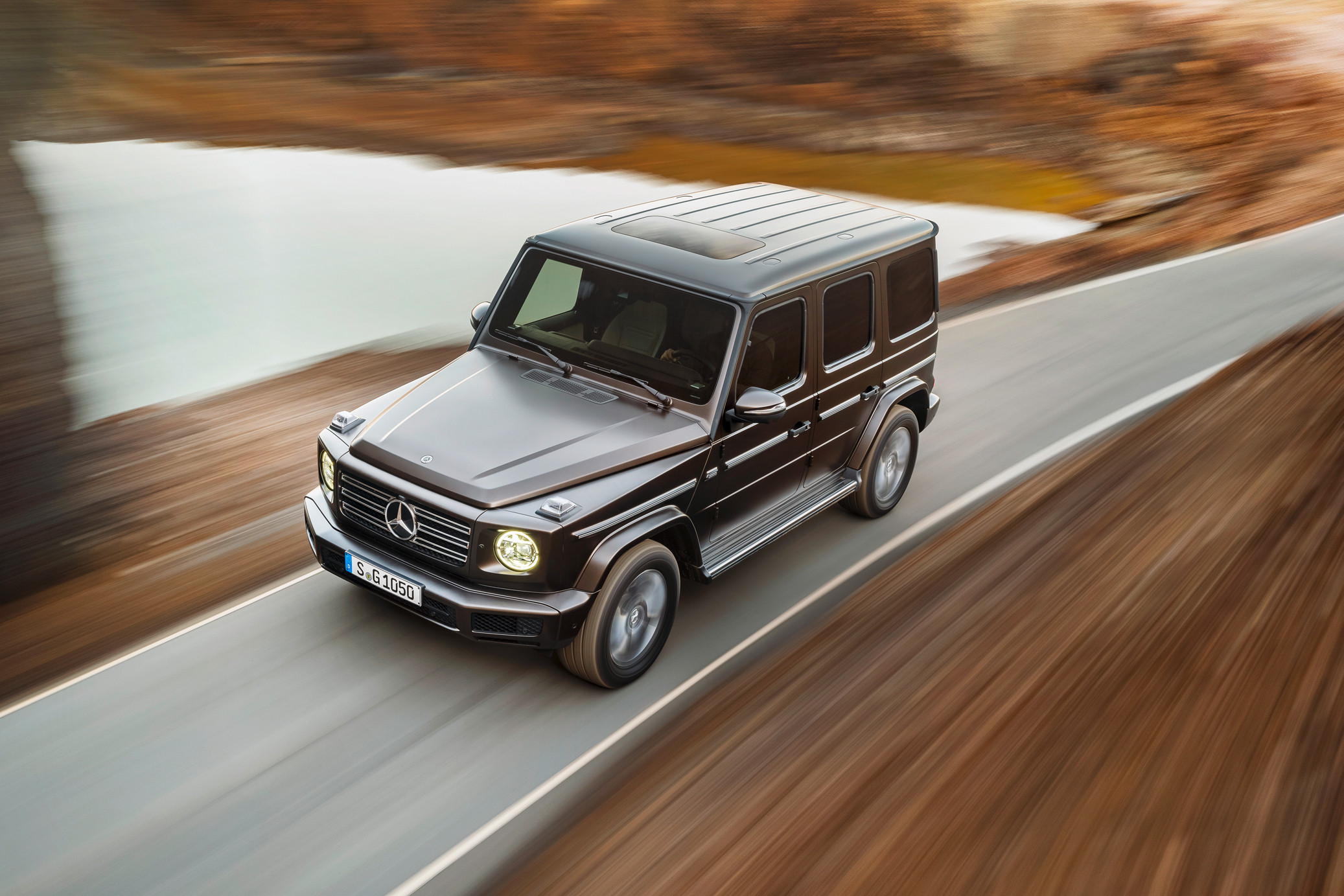 Mercedes Benz. North American International Auto Show G Series G 500 NAIAS  Detroit G Wagon