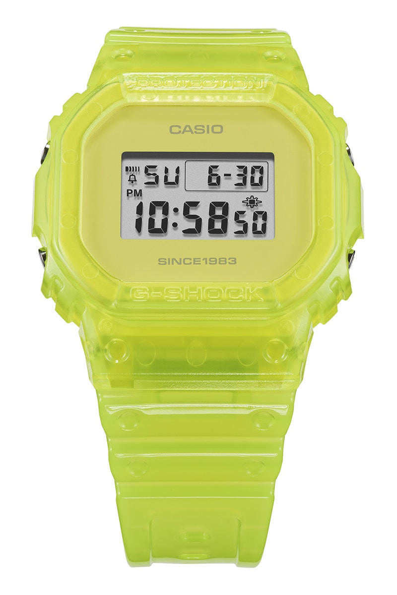NIGO G-SHOCK 35th Anniversary Watch Yellow Pink Kikuo Ibe DW-6935-4 DW-5635-9