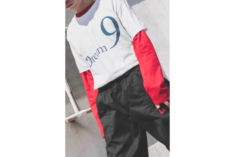 Gallery 909 HBX Campaign editorial lookbook garments streetwear scott watts dream 9  T-shirt 2018 pre spring summer collection