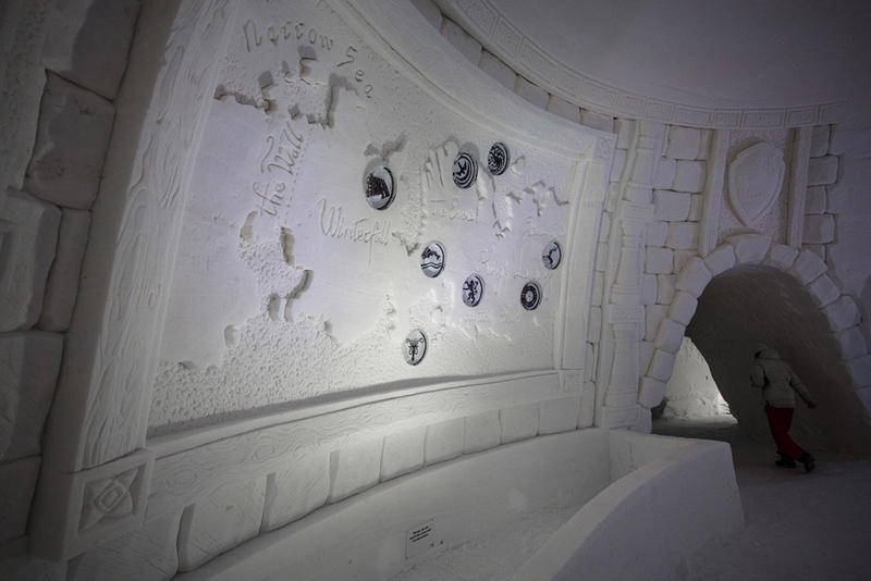 Game of Thrones Ice Hotel HBO Lapland Hotels SnowVillage Finland White Walker