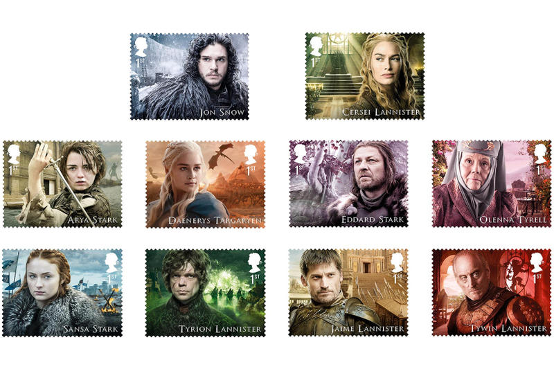 Game of Thrones Postage Stamps Collection Stamp Royal Mail