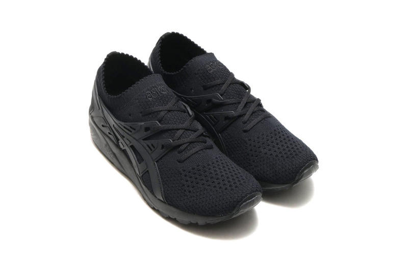 ASICS GEL Kayano Knit Triple White Black Kinetics Japan Tiger trainer 2018 January 26 Release Date Info