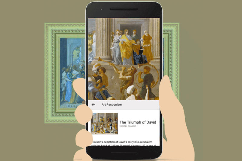 Google Arts & Culture Selfie App Store Play 2016 Paintings