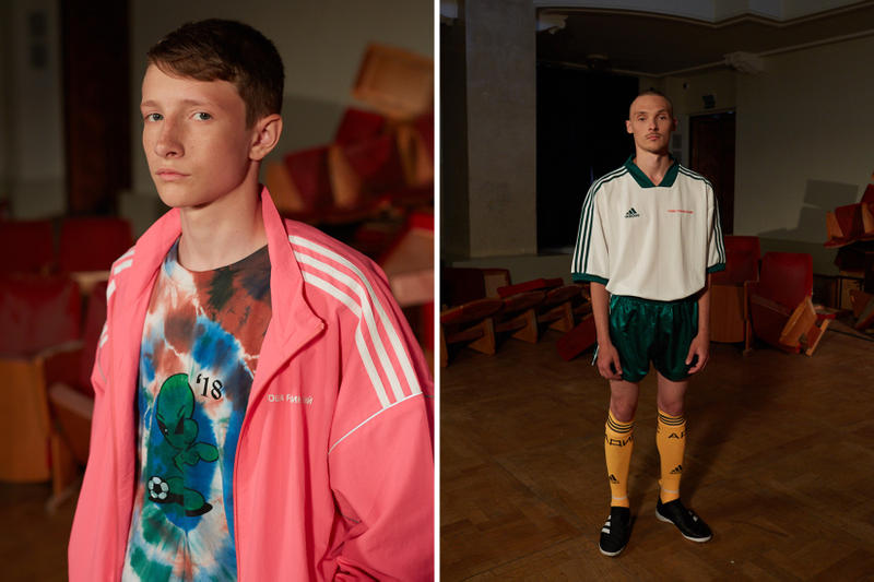 Gosha Rubchinskiy 2018 Spring Summer Lookbook Collection Dover Street Market London New York NYC Ginza Singapore