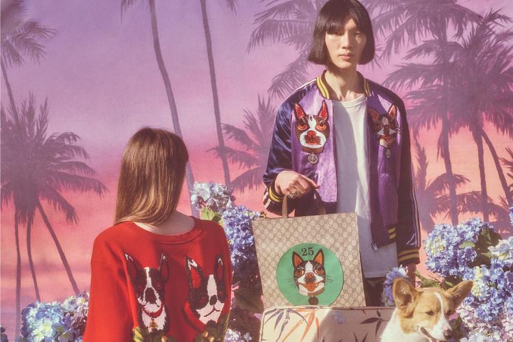9ac9b77f97d Petra Collins. Gucci Celebrates Chinese New Year With Dog-Centric Capsule  Collection