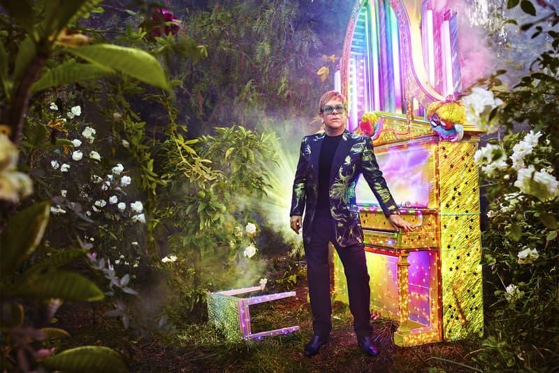 Elton John Farewell Tour Exclusive Gucci Styles Alessandro Michele