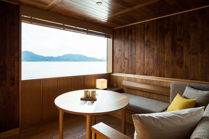 Stay on the Guntû Now Open in Seto Inland Sea Setouchi Japan