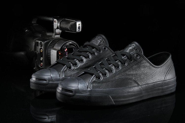 GX1000 Blacks Out the Converse CONS Jack Purcell Pro Ox 52e756d35