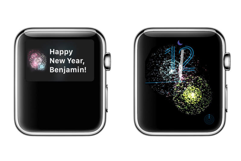 Apple Watch Celebrates New Year with Fireworks Animations Firework 2018