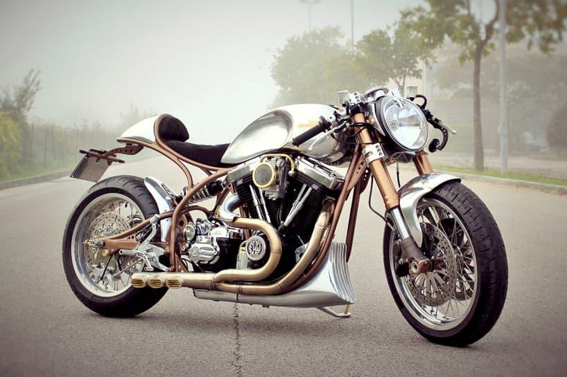FMW Motorcycles Introduces a Harley Davidson Hurakàn Custom Café Racer