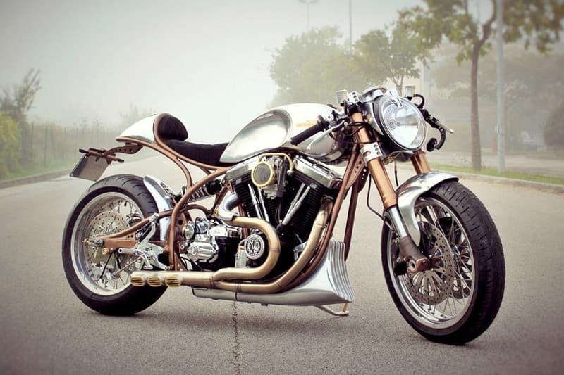 Harley Davidson Hurakan Hurakàn Custom Cafe Racer FMW Motorcycles Motorbikes