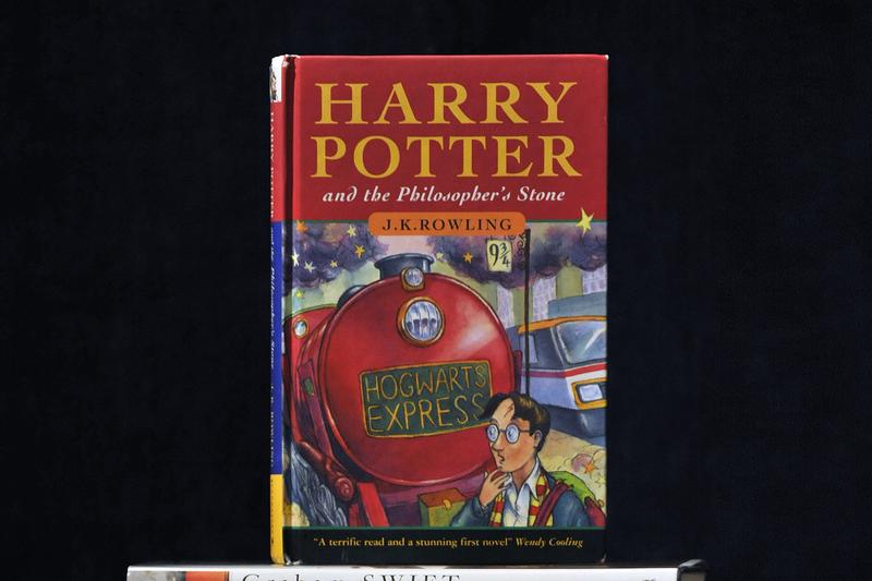 Harry Potter Rare First Edition Stolen Philosophers Stone