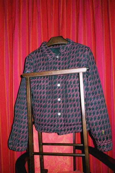 Helder Vices Tarantula Monogram Denim Jacket Gianni Mora