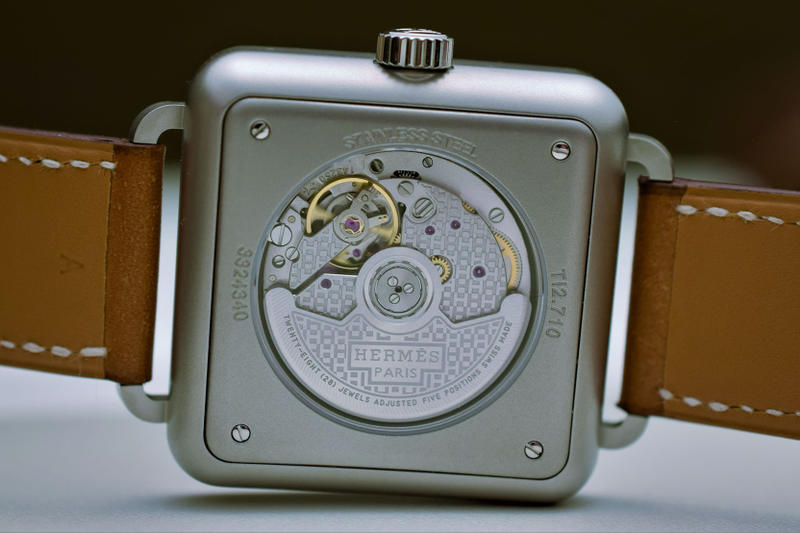 Hermès New Carre H Watch Design