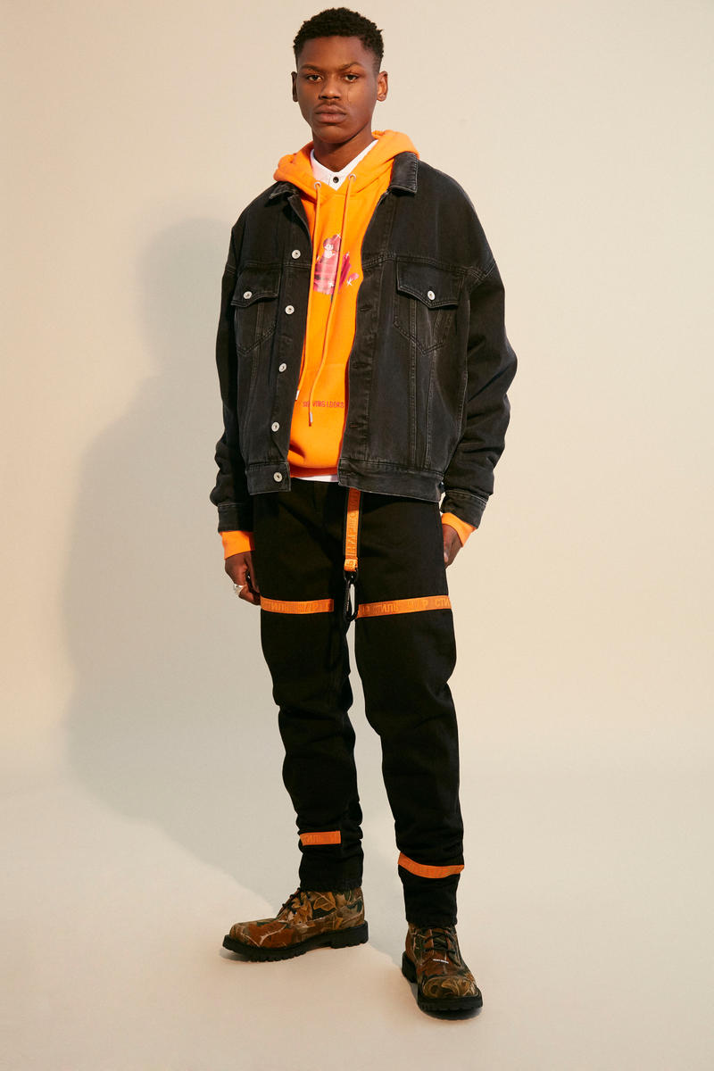 "Heron Preston 2018 Fall Winter ""PUBLIC FIGURE"" Collection Paris Fashion Week Men's"