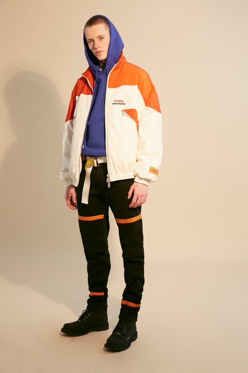 "Heron Preston 2018 Fall Winter ""PUBLIC FIGURE"" Collection Paris Fashion Week Men's"