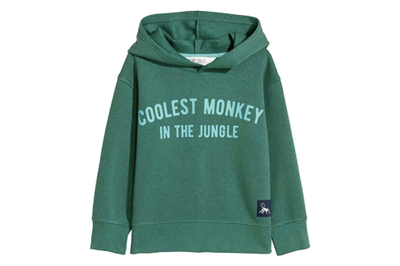 H&M Called Out Offensive Hoodie Styling Coolest Monkey in the Jungle Child Sweater young black kid boy racist insensitive backlash website