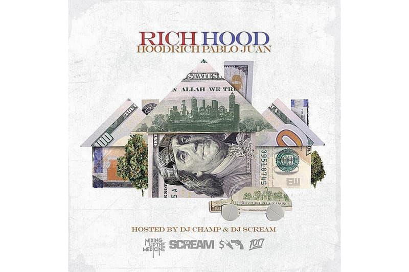 Hoodrich Pablo Juan Rich Hood Mixtape Gunna Lil Yachty Lil Baby Key Glock Lil Duke tape atlanta Stream Music Live Tracklist