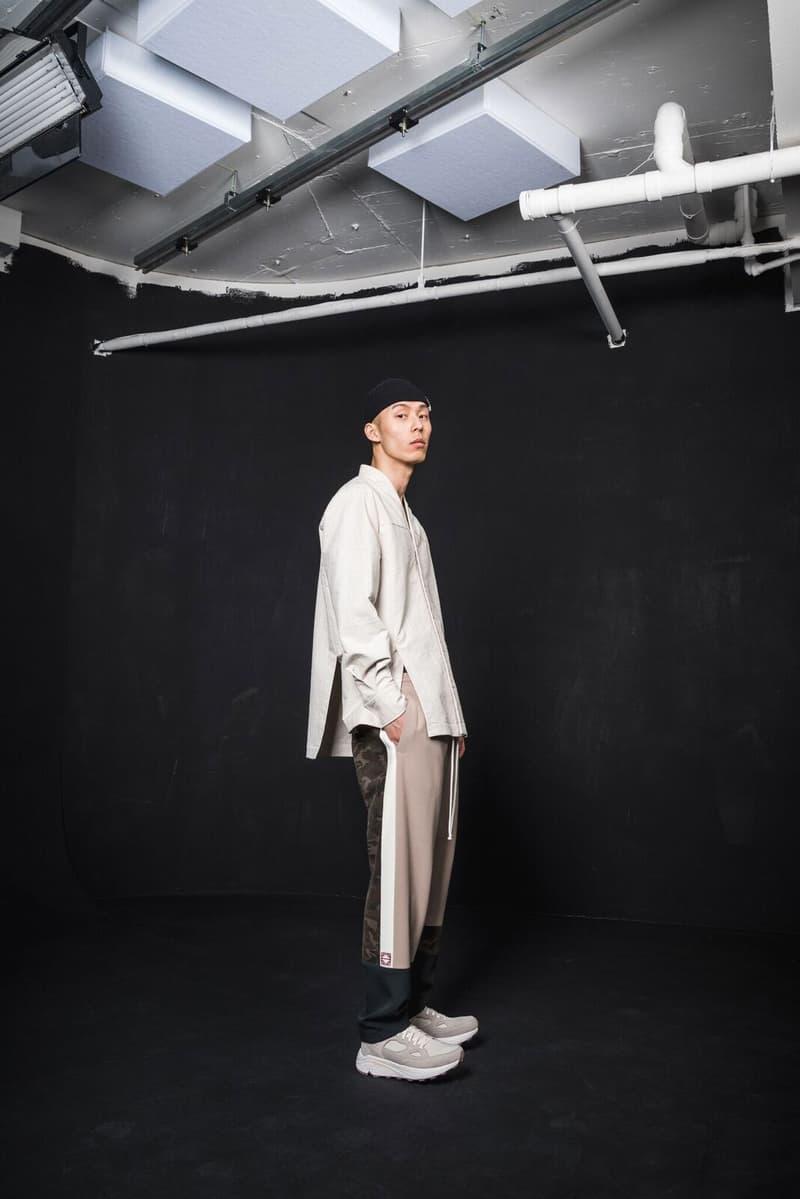 IISE Fall Winter 2018 Collection Lookbook korean streetwear military