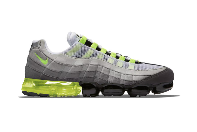 wholesale dealer 6db0a 0605f Nike Air Max 95 x VaporMax Hybrid Images Surface | HYPEBEAST