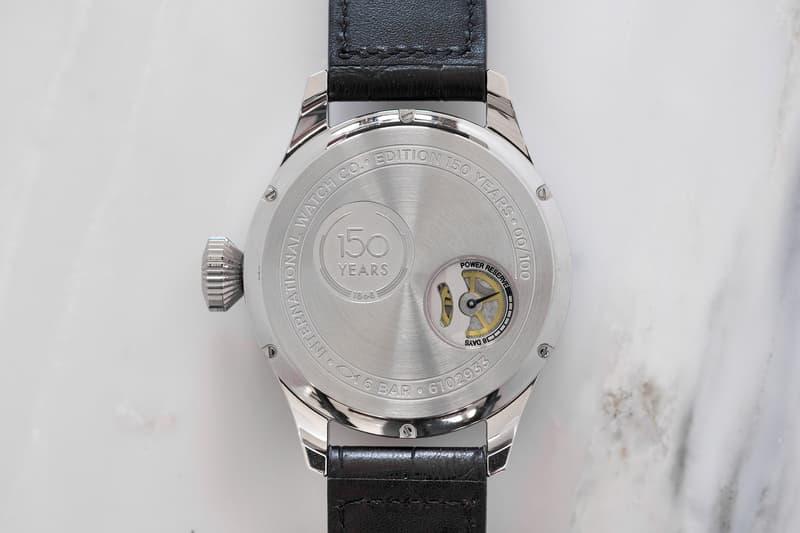 IWC Schaffhausen Big Pilot Watch Big Date Edition 150 Years Swiss Luxury Complication jubilee