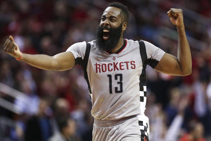 James Harden 60 Point Triple Double NBA Basketball Houston Rockets