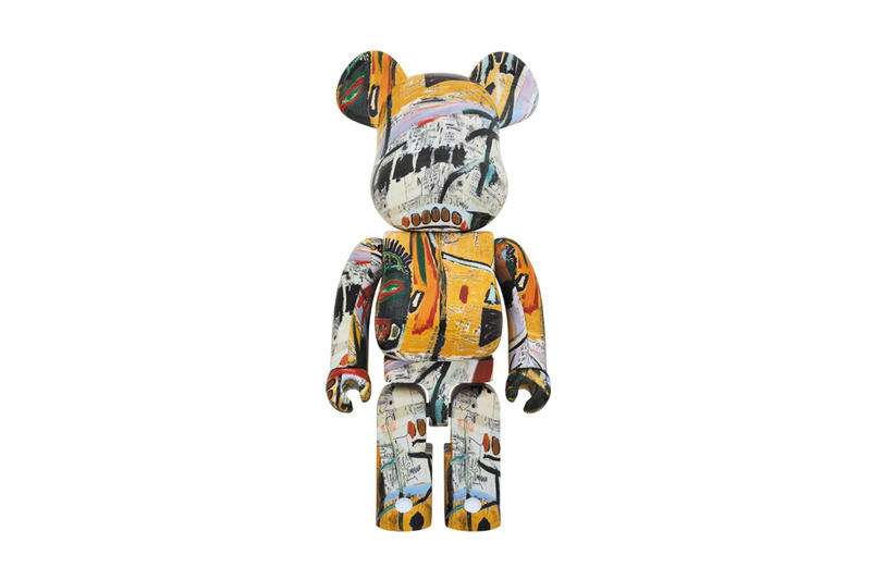 Jean Michel Basquiat Medicom Toy BEARBRICK 2018 January February Release Date Info 100 400 1000 Percent art artwork paintings