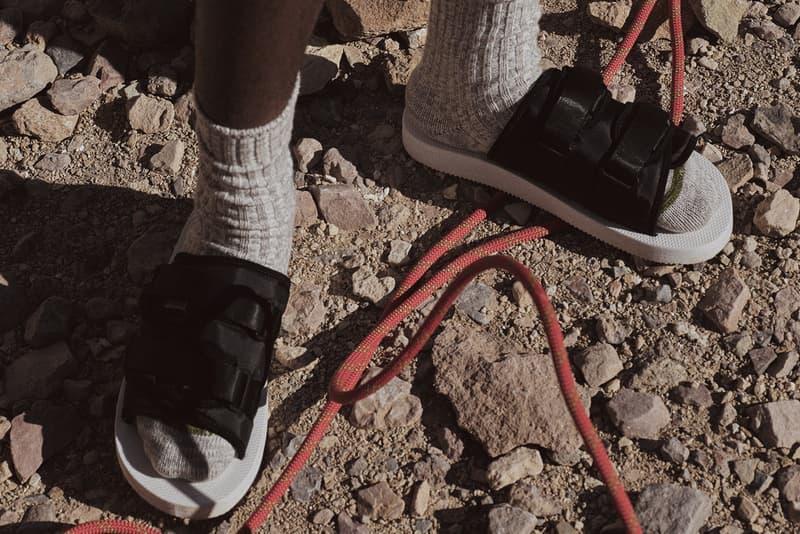 John Elliott Suicoke Moto Sandal January 12 release date purchase slides