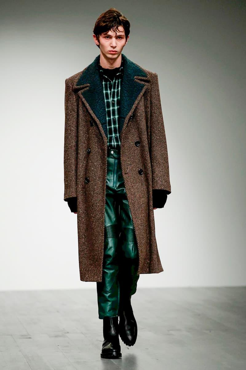 John Lawrence Sullivan 2018 Fall Winter runway london fashion week london fashion week mens lfwm