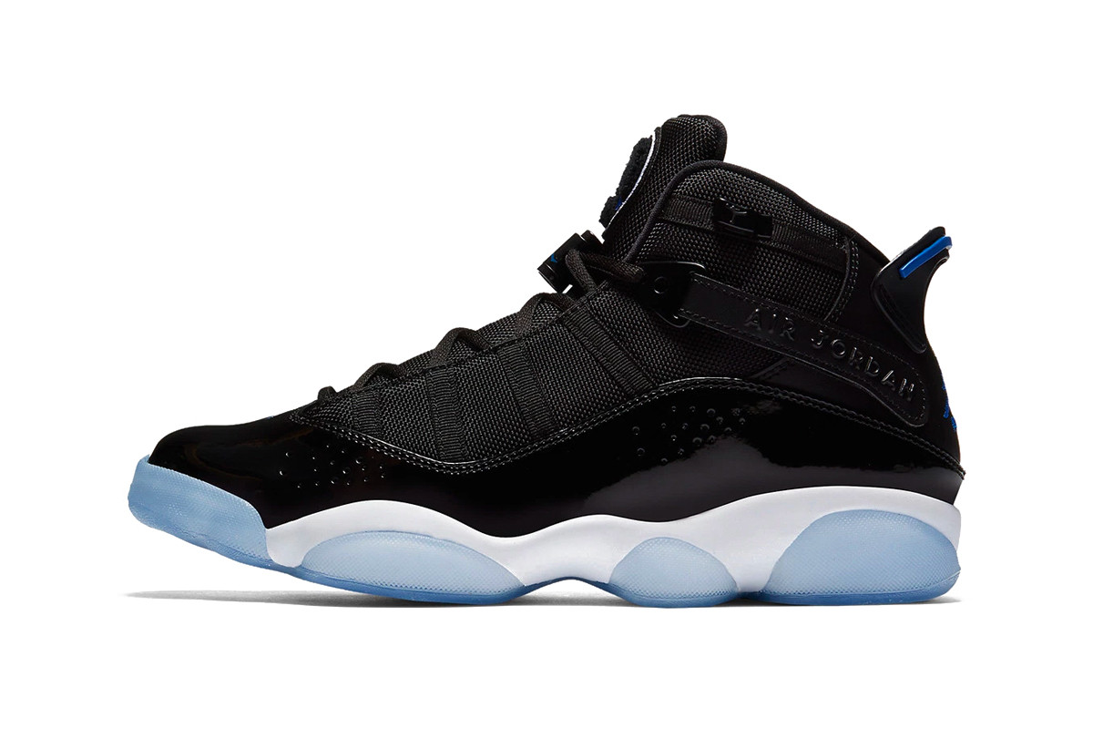 "Air Jordan 6 Rings ""Black/Hyper Royal"