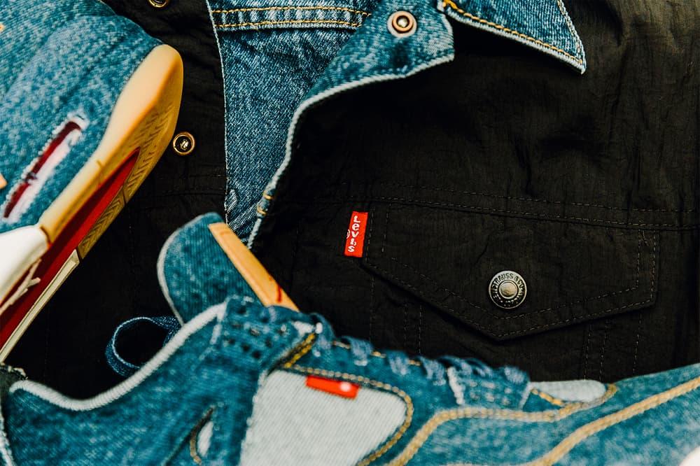 Jordan Brand Levis Air Jordan 4 Trucker Jacket fashion footwear 2018 January 17 Release Date Info