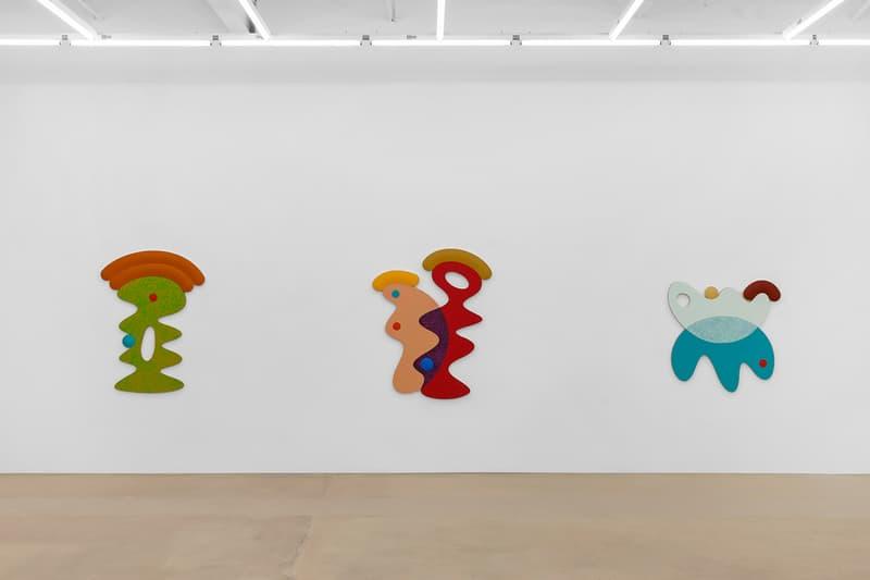 Josh Sperling Chasing Rainbows Perrotin Exhibit art sculpture painting color texture paris new york shapes
