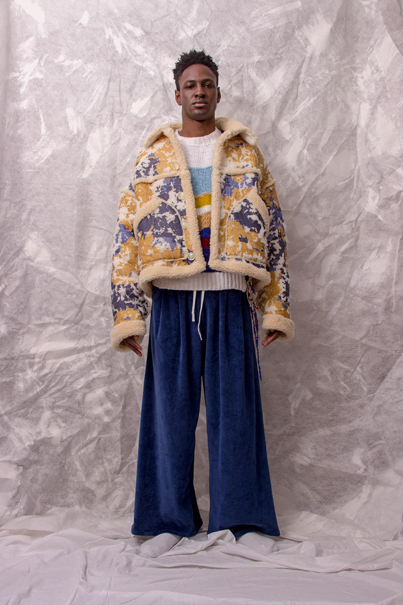 KA WA KEY 2018 Fall Winter Collection Lookbook London trashy boy