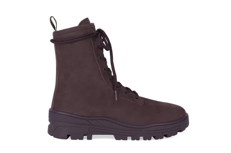 YEEZY Pre-Season 6 Footwear Release Chelsea Combat Boot