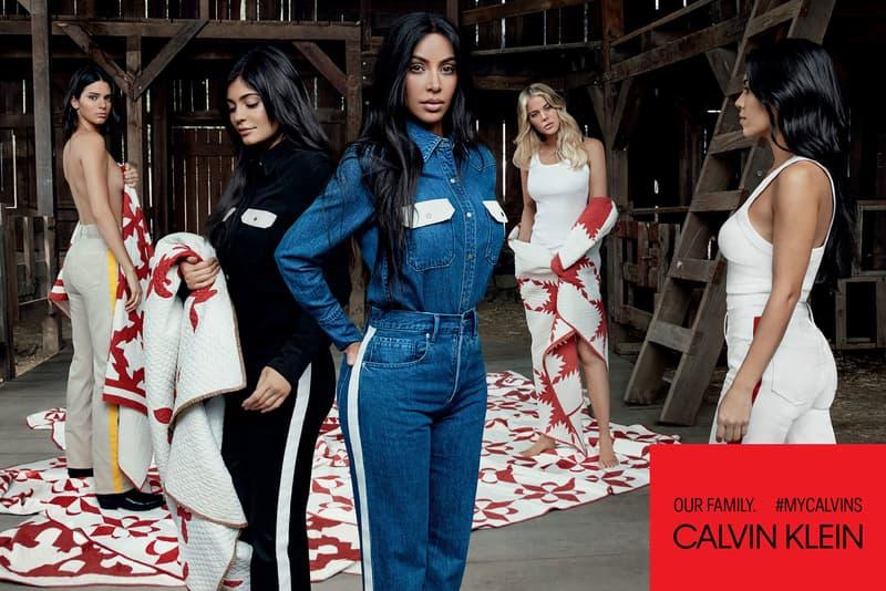 Calvin Klein Kardashian Jenner Kim Khloe Kourtney Kendall Kylie Willy Vanderperre MyCalvins Underwear Denim Fashion Clothing Accessories Raf Simons