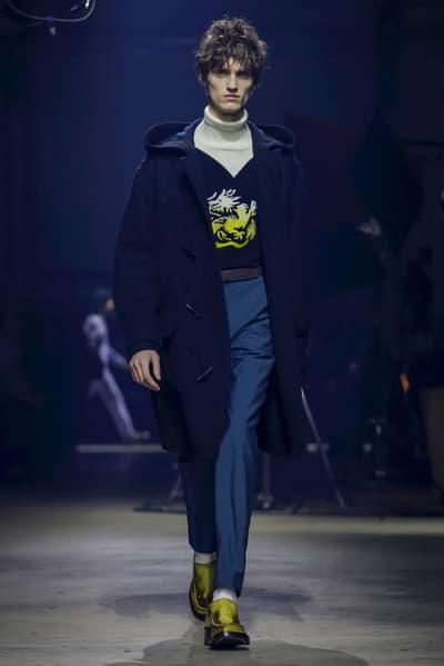 Kenzo Fall Winter 2018 Collection Runway Paris Fashion Week